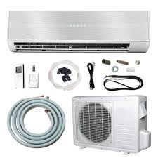 mitsubishi mini split wall mount amvent elite 12 000 btu 1 ton ductless mini split air
