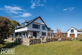 new houses being built with classic new england style a new hshire farmhouse new england home magazine