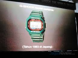 Jam Tangan G Shock Pertama 4 jam tangan tangguh baru ramaikan perayaan ulang tahun ke 30 casio