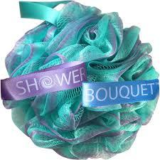amazon com loofah bath sponge swirl set xl 75g by shower bouquet