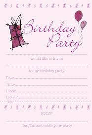 18th birthday party invitation ideas free printable invitation