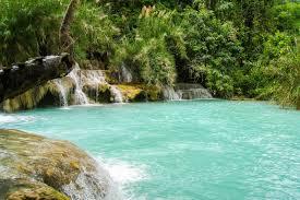 Most Beautiful Waterfalls by Kuang Si Falls Luang Prabang The Most Beautiful Waterfall