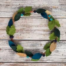 felt wreaths lia griffith