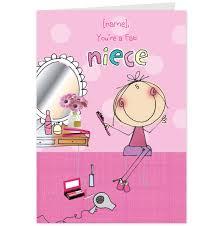 niece birthday cards like success