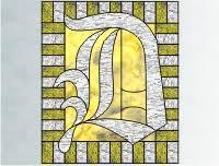 alphabet stocking suncatchers stained glass stocking suncatcher