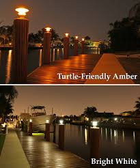 Marine Solar Lights - or boating solar piling lights