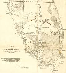 Map Of Fort Pierce Florida by Florida Memory Teacher Resources Seminole Origins And