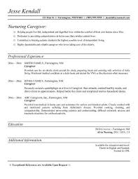 resume objective statements caregiver cover letter caregivers resume caregiver resume objective