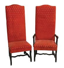 lot detail elvis presley u0027s dining room chairs from the graceland