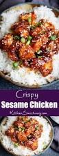 Three Colors Asian Kitchen by Crispy Sesame Chicken With A Sticky Asian Sauce Nicky U0027s Kitchen