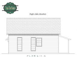 House Plans Small Homes by Plan 613 G