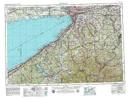Buffalo State Map by New York Topo Maps Topographic Maps 1 250 000