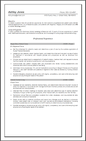 exles of resume templates 2 sle objective resume for nursing http www resumecareer info