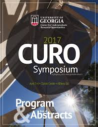 curo symposium 2017 book of abstracts by uga honors program issuu