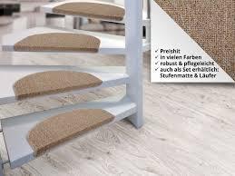 stufenmatten fuer treppe teppich für treppen floordirekt de