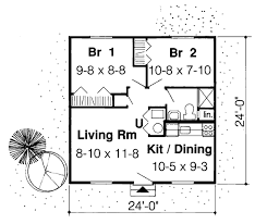 Vacation House Floor Plans First Floor Plan Of Cabin Cottage Traditional Vacation House Plan