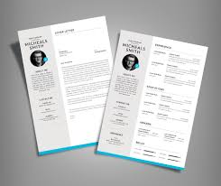 Good Resume Design Free Professional Resume Cv Design With Cover Letter Available