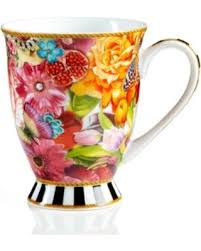 melli mello great deal on lenox melli mello eliza stripe collection mug
