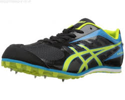 black friday asics shoes friday asics men u0027s hyper ld 5 track shoe black lime blue jtzmqy7i0