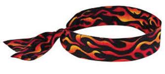 cooling headband airgas e5712341 ergodyne flames chill its 6700 cotton polymer