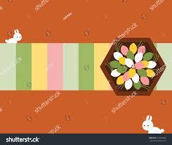 chuseok korean thanksgiving rice cakes songpyun korean thanksgiving chuseok stock vector