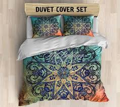 best  bohemian bedding sets ideas on pinterest  bohemian  with bohemian bedding bohemian queen  king  full  twin by artbedding from pinterestcom