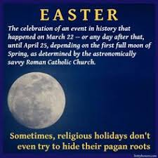 Pagan Easter Meme - fertility worship exposing pagan holidays pinterest