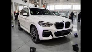 the new 2018 bmw x3 live from spartanburg youtube