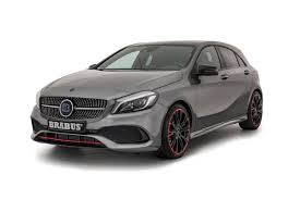 brabus brabus boosts mercedes amg a 45 hatch with new tuning pack evo