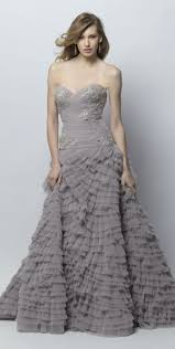 Draped Bodice Dress Steel And Champagne Wedding Dresses Wedding Dress Hairstyles