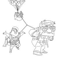 house colouring disney up coloring pages getcoloringpages com