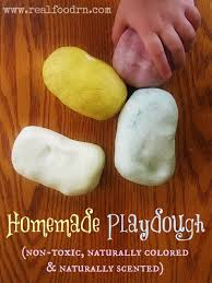homemade playdough non toxic