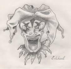 evil jester drawings evil clown woody the tattoo shop uk