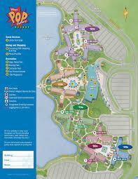 Busch Gardens Map Pop Century Resort Map Kennythepirate Com An Unofficial Disney