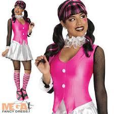 draculaura ladies monster high fancy dress halloween costume