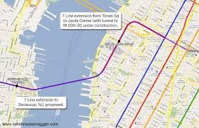 Ny Mta Map New York To Pay Engineering Firm To Analyze Extension Of 7 Train