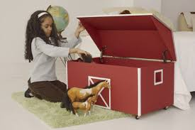 red barn toy box plans