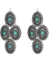 Cascading Bead Chandelier Earrings Express Turquoise Chandelier Lighting Winter Deals