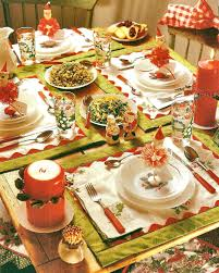 Christmas Table Decorations To Make At Home by Christmas Table Decoration Ideas