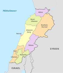 Lebanon World Map by File Lebanon Administrative Divisions De Colored Svg