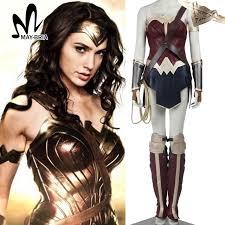 2017 diana prince wonder woman cosplay costume batman v