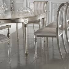 high end champagne leaf dining chair juliettes interiors