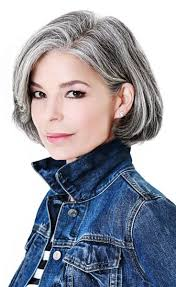 highlights for white hair on older women grey hair hide or not to hide hairstyles for woman