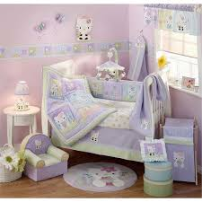 Purple Bedding For Cribs Beautiful Baby Crib Bedding Sets For Lostcoastshuttle
