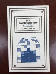 Map Crafting Recipe Mine Chest June 2016 Subscription Box Review U2013 The Nether Hello
