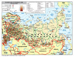 russia map by population population density map of russia by bestcountryreports