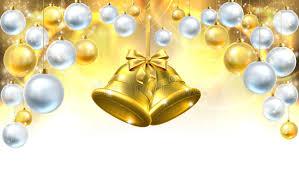 bells decorations background stock vector image 62381592