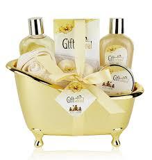 Spa Gift Baskets For Women Spa Gift Basket With Sensual Rose U0026 Jasmine Fragrance Best