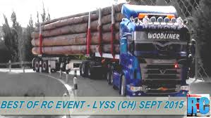 best of rc truck event lyss switzerland september 2015