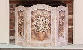 Decorative Fireplace by Fireplace Screen Decorative